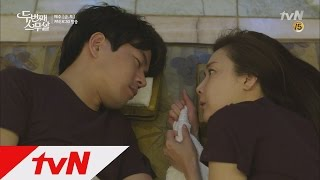 getlinkyoutube.com-Second 20s Choi Ji-woo, Lee Sang-yoon become a lamb-hair couple in the sauna Second 20s Ep11