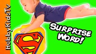SUPERMAN Surprise Word HobbyGator DROOLS Inside Out Blind Box + Toys By HobbyKidsTV