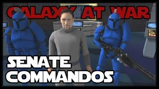 Senate Commandos - Star Wars Mod - Men of War: Assault Squad 2