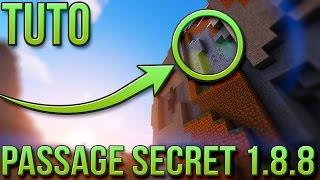 getlinkyoutube.com-PASSAGE SECRET FACILE 1.8.8   Minecraft