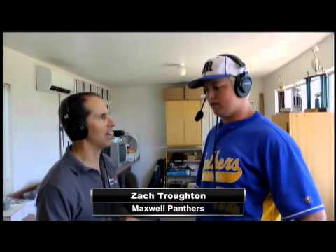 Player of the Game Interview with Maxwell's Zach Troughton.