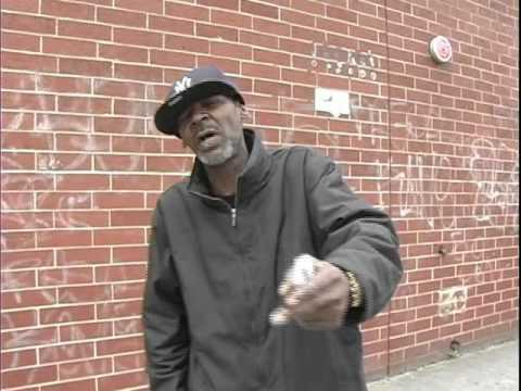 Black angry man from Brooklyn/ ( talk about da saggin pants..)