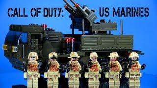 getlinkyoutube.com-Brick Warfare: U.S. Marines Special Forces & Sluban Anti-Aircraft Flak M38-B0302