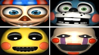 getlinkyoutube.com-Five Nights at Freddy's 2: Slender Fortress 2 - All Jumpscares (3D)