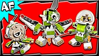 getlinkyoutube.com-Lego Mixels ORBITONS Series 4 Rokit, Niksput & Nurp-Naut Stop Motion Build Review 4152741528 41529