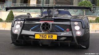 getlinkyoutube.com-One-Off Pagani Zonda 760 VR Roadster Start Up & Revs - Lovely V12 Sound!