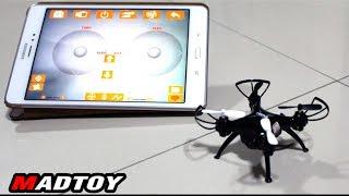 getlinkyoutube.com-MADTOY ตอนที่371 โดรนจิ๋วติดกล้อง สั่งให้บินตามแผนที่ได้ 1,990 บาท