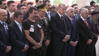 Şehit Tümgeneral Aydın Ankara'da son yolculuğuna uğurlandı