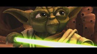 getlinkyoutube.com-Star Wars: The Clone Wars - Master Yoda vs  Separatist Droid Army [1080p]