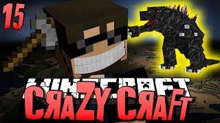 getlinkyoutube.com-Minecraft CRAZY CRAFT 15 - CLIFF HANGER OP (Minecraft Mod Survival)