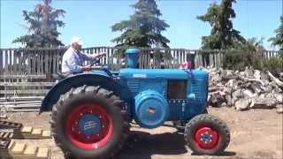 getlinkyoutube.com-Broxburn One Cylinder Tractor Show Part 1