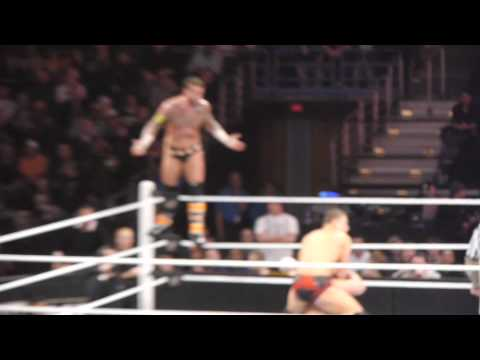 CM Punk/Miz vs. Randy Orton/Cena - WWE Raw main event dark match 02/07/11