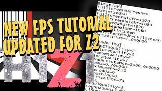 getlinkyoutube.com-H1Z1: King of The Kill - FPS Tutorial - Tips To Increase FPS in H1Z1 KOTK Z2 map, Useroptions.ini