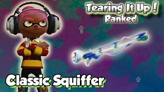 getlinkyoutube.com-Splatoon Multiplayer - Tearing It Up W/ Classic Squiffer (Get Squiffed!)
