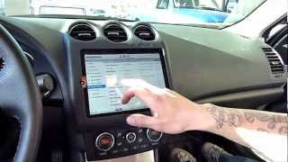 getlinkyoutube.com-Amplified - iPad Nissan Altima Finished. iPad Chevy Truck dash install. EP15