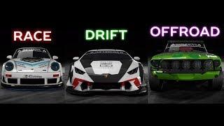 Best Car [RACE/DRIFT/OFFROAD] | NFS Payback