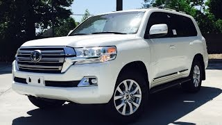 getlinkyoutube.com-2016 Toyota Land Cruiser Full Review /Start Up /Exhaust /Short Drive