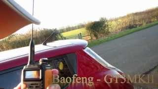 getlinkyoutube.com-Baofeng GT3 MK2 - quick unboxing and field test against 6 other radios
