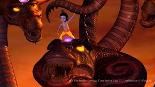 getlinkyoutube.com-Little Krishna Tamil - Episode 1 Attack Of Serpent King
