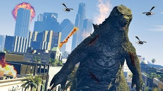 getlinkyoutube.com-GTA 5 PC Mods - ULTIMATE GODZILLA MOD!! GTA 5 Godzillla Mod Gameplay! (GTA 5 Mods Gameplay)