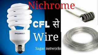 How to find nichrome wire at home,easily