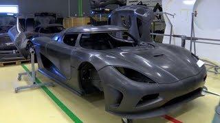 getlinkyoutube.com-Carbon Fiber Construction - /Inside Koenigsegg