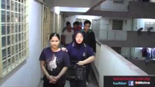getlinkyoutube.com-68 Warga Asing di tahan Imigresen Kuala Lumpur