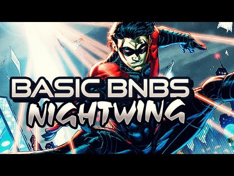 Nightwing (Escrima) BnB Combos (35-46%) Tutorial | Injustice: Gods Among Us