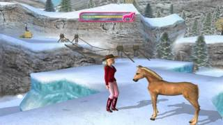 getlinkyoutube.com-Barbie Horse Adventures Wild Horse Rescue (Commentary) Part 9: The Monkeybars Part