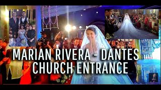 getlinkyoutube.com-Marian Rivera-  Church Entrance