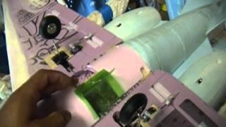 getlinkyoutube.com-r/c learjet landing gear doors