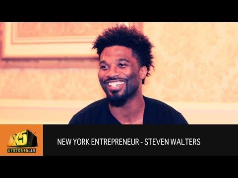 New York Entrepreneur - Steven Walters @stevenbwalters