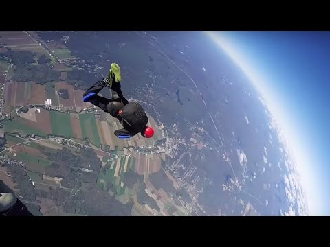 Friday Freakout: Skydiving Student Spins Out of Control