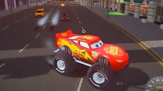 getlinkyoutube.com-Grand Theft Auto IV Mods Disney PIXAR CARS Dead Race With Tow Mater Truck and MCQUEEN MOD - Part #02