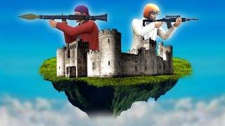 getlinkyoutube.com-DEFEND THE FLOATING CASTLE! (GTA 5 Funny Moments)