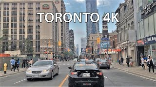 Driving Downtown - Toronto's Main Street - Toronto Canada