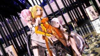 getlinkyoutube.com-【MMD】虎視眈眈 (HAKU & LUKA & RIN)