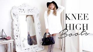 getlinkyoutube.com-How I Style Knee High Boots