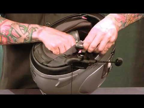 Cardo Scala Rider Helmet Install