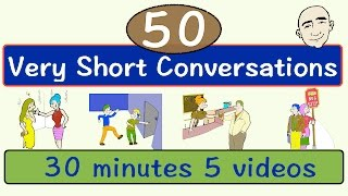 getlinkyoutube.com-50 Very Short Conversations   Volume 1   English Speaking Practice   ESL   EFL