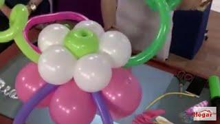 getlinkyoutube.com-Globoflexia-Como hacer Guirnalda con Globos para decorar el Techo - Hogar Tv  por Juan Gonzalo Angel