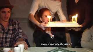 getlinkyoutube.com-Violetta en Concert - Coulisses : l'anniversaire de Cande