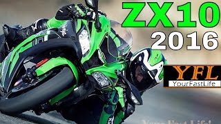 ZX10R 2016 Kawasaki Ninja DETAILS/Features: What is NEW on the ZX10R? [part 2]