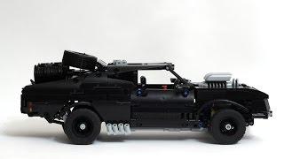 getlinkyoutube.com-LEGO Technic Mad Max V8 Interceptor 'Pursuit Special'