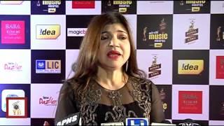 getlinkyoutube.com-Alka Yagnik @ THE 7th Mirchi Music Awards
