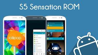 getlinkyoutube.com-AndroidMod - Lollipop dell'S5 per il Galaxy S3 con la S5 Sensation ROM