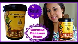 getlinkyoutube.com-Hair Botox Lola- Por Joice Magalhães