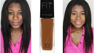 getlinkyoutube.com-maybelline fit me Matte and Poreless | review & demo