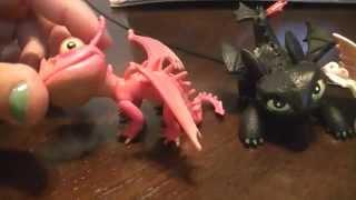 getlinkyoutube.com-How To Train Your Dragon 2 Epic Battle Mini Dragon Set Review