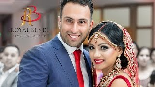 getlinkyoutube.com-A Beautiful Sikh Wedding Entrance - Danny & Manpreet by Royal Bindi
